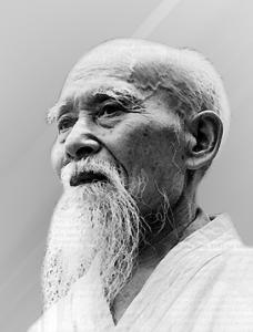 Portrait - Ueshiba Morihei